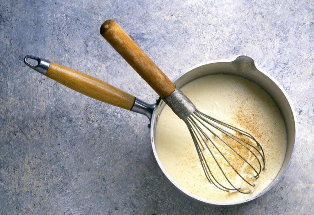 salse in cucina: besciamella