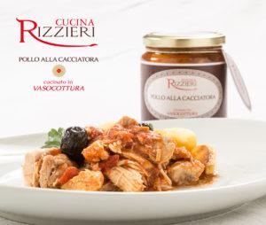 Vasocottura Rizzieri - Pollo alla cacciatora