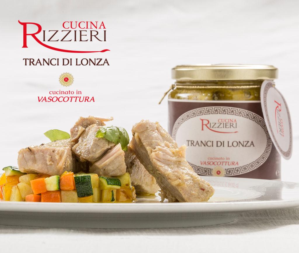 Vasocottura Rizzieri - Tranci di lonza di suino