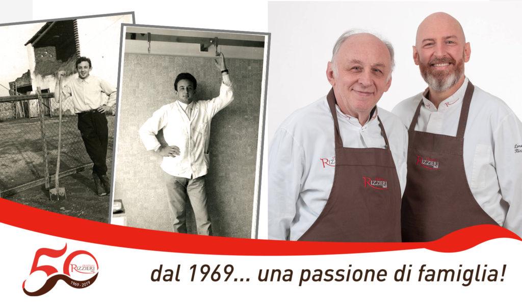 macelleria Rizzieri - 50 anni